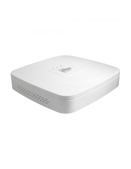 NVR 8ch IP hasta 8Mpx, 80Mbps, H.265, 1 HDD